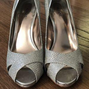 ALFANI Silver Heels